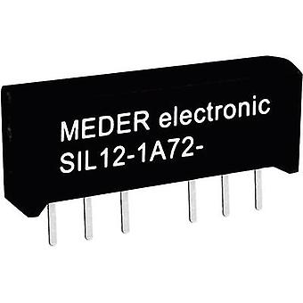 StandexMeder Electronics SIL12-1A72-71D Reed relay 1 maker 12 V DC 0.5 A 10 W SIL 4