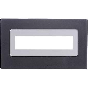 H-Tronic FR 216 Face frame Black Compatible with: LCD 16 x 2 (W x H x D) 91 x 53 x 20 mm Plastic