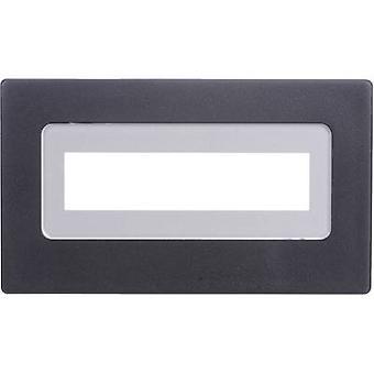 H-Tronic FR 216 gezichts frame zwart compatibel met: LCD 16 x 2 (b x H x D) 91 x 53 x 20 mm kunststof