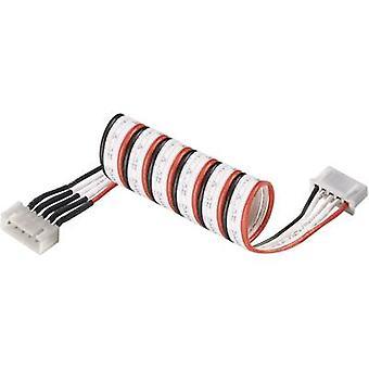 Modelcraft LiPo كابل تمديد نوع (أجهزة الشحن): نوع XH (بطاريات قابلة لإعادة الشحن): XH مناسبة لـ (لا. من البطاريات: 2
