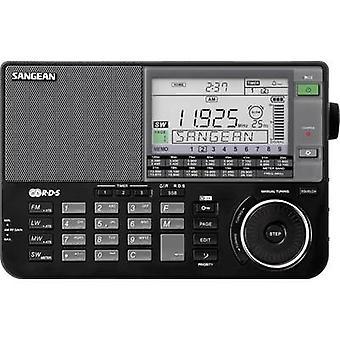 Sangean ATS-909 X Shortwave receptor SW, AM, LF, FM AUX Battery carregador Preto