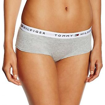 Tommy Hilfiger Women Iconic Cotton Shorty Brief, Grey, X-Large