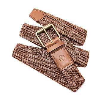 Pas taśmowy Arcade Hudson w kolorze brązowym/karmelowym