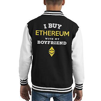 Kupić Ethereum z moim chłopakiem Kid uniwerek kurtka