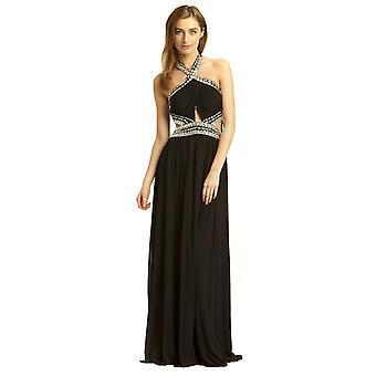 إيكروش بولي المرأة المساء فستان ماكسي