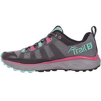 Salming Womens Trail 5 Sports Outdoor Training chaussures formateurs - gris/noir