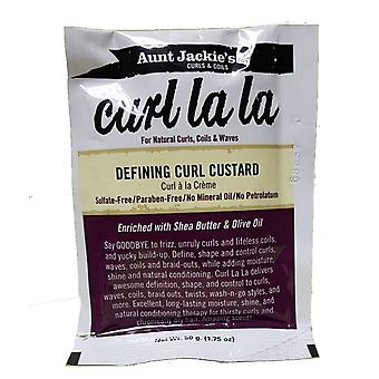Aunt Jackie's Curl La La Defining Curl Custard Satchet 1.75 oz