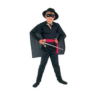 Zorro-, middels.