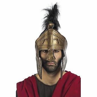 Helm ridder helm vizier bronzen mens Knight heer kostuum
