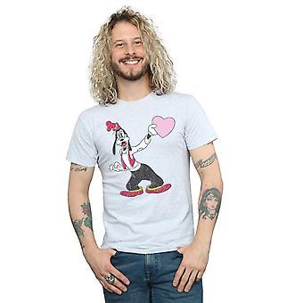 Disney Dingo amour coeur T-Shirt homme