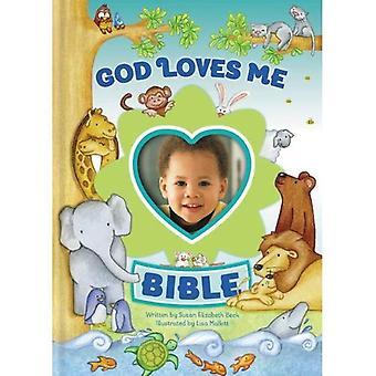Dieu m'aime Bible, édition nouvellement illustrée