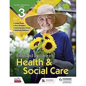 CACHE nível técnico 3 estendida Diploma em saúde e Assistência Social (Cache de nível 3)