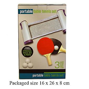 Portable Tennis Table Set Ideal For Home Office Parties Picnics