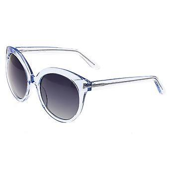 Bertha Violet Polarized Sunglasses - Blue/Black