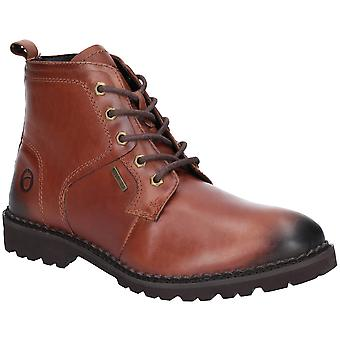 Cotswold Mens Hampton Lace Up Wicking Leather Ankle Boots