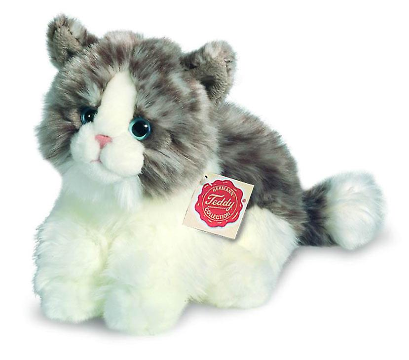 Hermann Teddy cat grey 23 cm