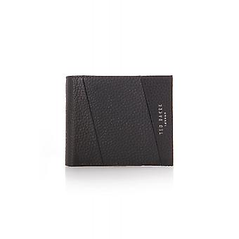 Ted Baker Mens microtitre aggraffati in pelle Bifold Wallet