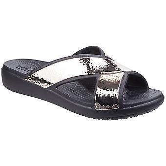 Crocs naisten/naisten Sloane Hammered Xstrap Sliders