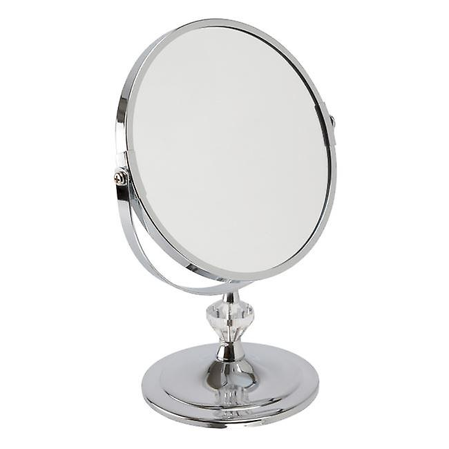 FMG Stand 18cm Mirror True Image & 5x Magnification - Chrome
