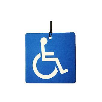 Handicap Blauwe Badge auto luchtverfrisser