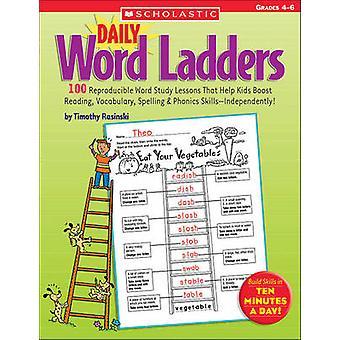 Daily Word Ladders Grades 4-6 by Timothy V Rasinski - 9780439773454 B