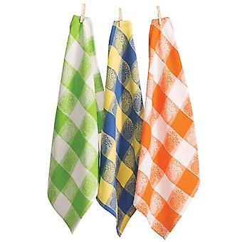 Pineapple Tea Towels - Set of 12 (4 of Each Colour)