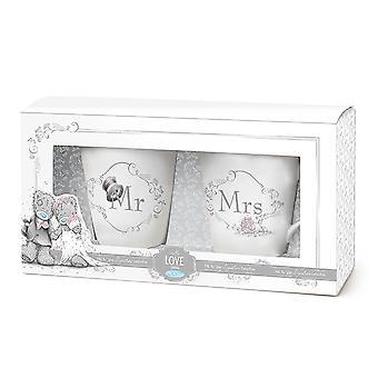 Moi à vous mariage Mr & Mme Mug Set (boxed)