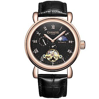 Gamages Of London Limited Edition Moon Phase Automatic Watch