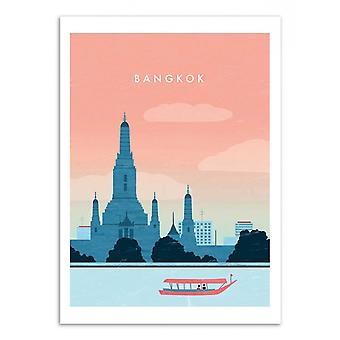 Art-Poster - Bangkok - Katinka Reinke 50 x 70 cm