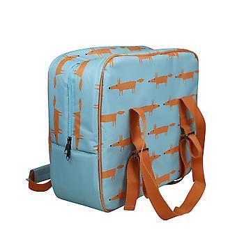 Scion Mr Fox Large Cooler Bag, Blue
