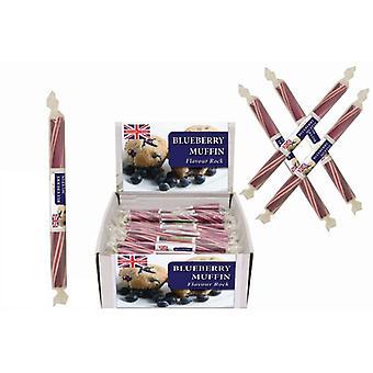 20 pequenas varas de rocha aromatizadas-Blueberry Muffin sabor