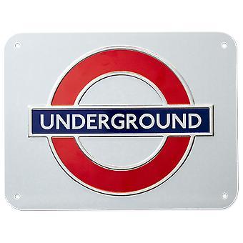 Tfl™3101 licensed underground™ metal sign large