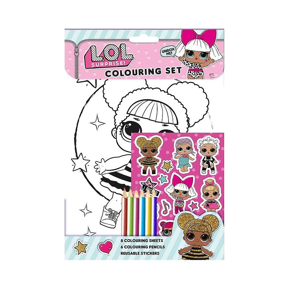L.O.L Überraschung! Colouring Set Activity Pack