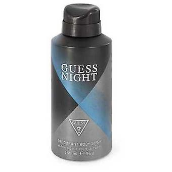 Guess Night By Guess Deodorant Spray 5 Oz (men) V728-545101