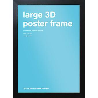 Eton 40mm zwart Frame 47x67cm Poster / Frame afdrukken