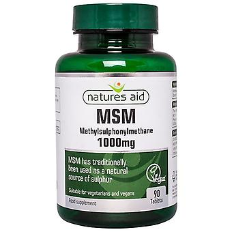 Natuur ' s Aid MSM 1000mg tabletten 90 (19630)