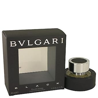 Bvlgari black eau de toilette spray (unisex) de bvlgari 417727 38 ml