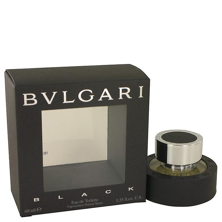 Bvlgari Black Eau De Toilette Spray By Bvlgari 38 ml