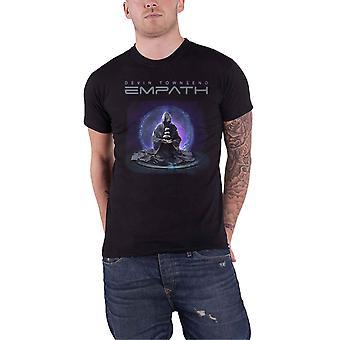 Devin Townsend T Shirt Empath Meditation Band Logo new Official Mens Black