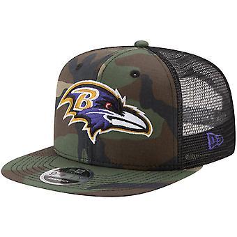 New era 9Fifty plasă snapback cap Baltimore Ravens lemn Camo