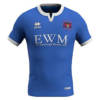 2019-2020 Carlisle United Errea Home Football Shirt