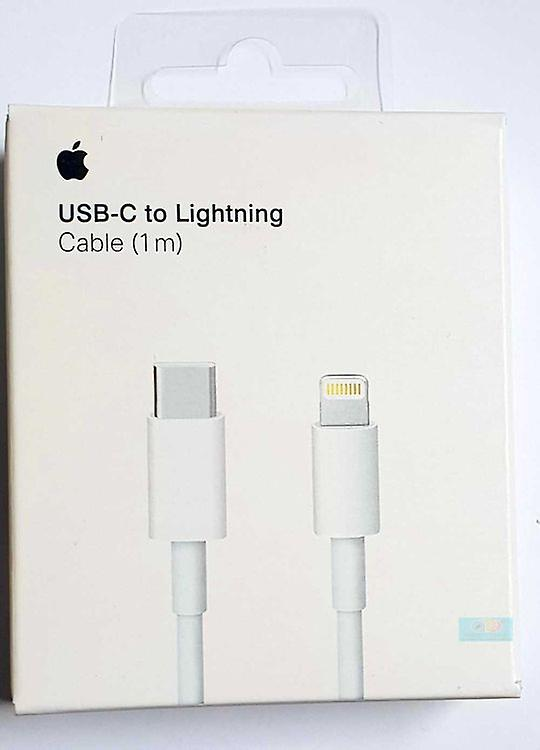 Originally Packed Retail Apple A1656 MKOX2, USB-C- to Lightning, Charging Cable 1m - White