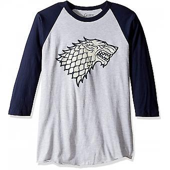 Game of Thrones Stark Sigil Baseball T-Shirt