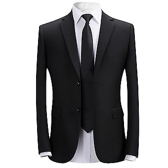 Allthemen menn ' s solid blazer slim fit arbeid Business casual Dress jakke