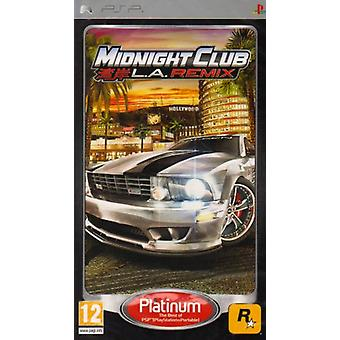Midnight Club LA Remix-Platinum Edition (PSP)-fabriek verzegeld