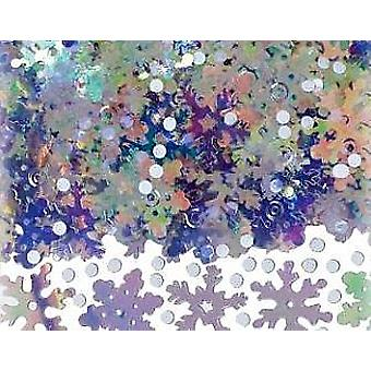 SALE - Bumper 71g Bag of Snow Confetti Sequins for Crafts