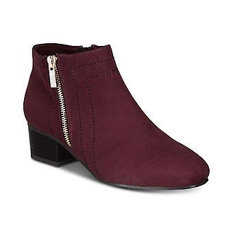 Charter Club Womens Boniee stof vierkante teen enkel mode laarzen