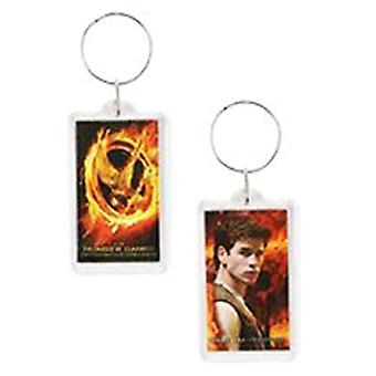 The Hunger Games Lucite Keychain Gale
