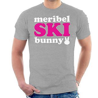 Meribel Ski Bunny Men's T-Shirt