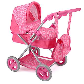 Toyrific Snuggles Deluxe Pram Pink